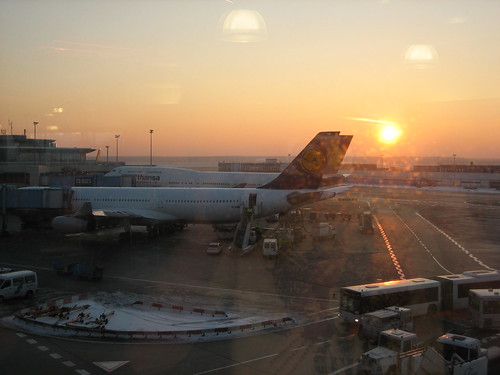 Sunrise at Frankfurt Airport by swarve, on Flickr