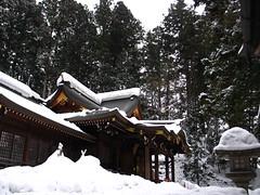 snowy temple (uninvolved observer) Tags: travel favorite snow japan temple 日本 g6 takayama 高山 2favs
