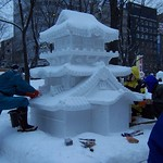 Sapporo Snow Festival - Japanese House, I believe