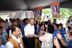 Lawatan Ke Sarawak 15/06/2015 - 16/06/2015 (Najib Razak) Tags: prime pm minister rumah perdana razak najib gawai majlis menteri kapit dayak tikai ngiling bengau