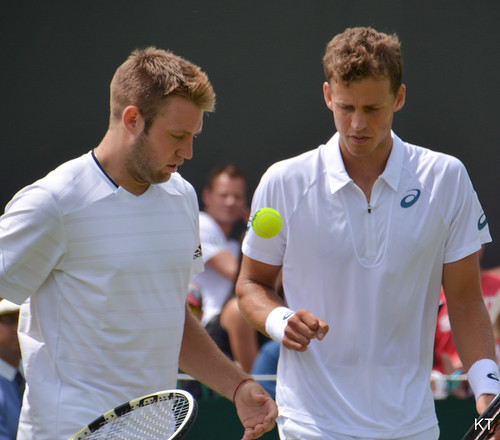 Jack Sock - PopSock start their title defence on the first day of Wimbledon 2015