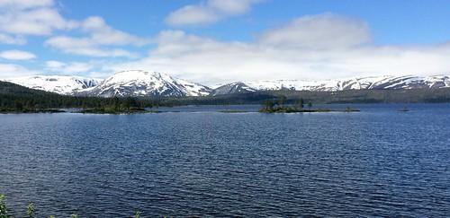 Majavatn, Nordland in Norway