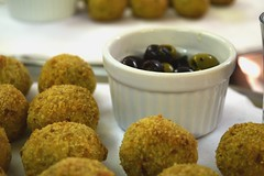 Rice Balls & Olives