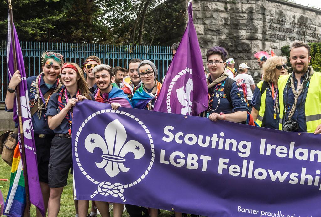 DUBLIN 2015 GAY PRIDE FESTIVAL [BEFORE THE ACTUAL PARADE] REF-106249