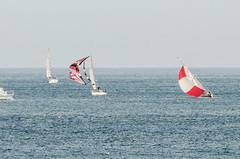 Arriving Guernsey 17th July (Matchman Devon) Tags: classic race regatta z spinnaker passage channel paimpol zaleda bulmic