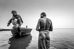 Ganga for everyone (ayashok photography) Tags: india river asian boat nikon asia ride indian crowd group desi varanasi pilgrim bharat ganga ganges bharath desh barat cwc northindia uttarpradesh pilgrimages barath 2013 nikkor24120mmvr nikonstunninggallery ayashok nikond700 ghatsofvaranasi chennaiweekendclickers ayashokphotography varday10191