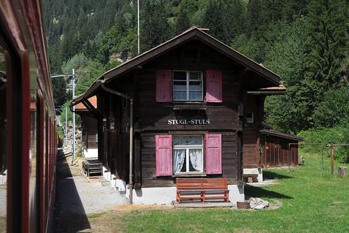 RhB Station Stugl-Stuls