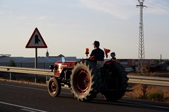 IMG_0407 (ACATCT) Tags: old espaa tractor spain traktor agosto toledo antiguo massey pistacho tembleque barreiros 2015 bustards perdices liebres avutardas ff30ds r350s