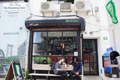 Exterior of MatchaBar (thewanderingeater) Tags: nyc brooklyn tea williamsburg greentea matchatea matchabar