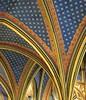 IMG_3675 (michele 69600) Tags: gothiquerayonnant plafond architecture géométrique paris france europe abstrait motif bleu blue