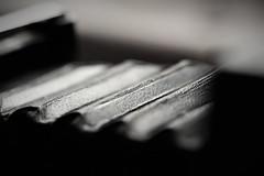 Accordion (niKonJunKy22) Tags: macromondays redux2016 inarow accordion camera old antique korona bw black blackandwhite bokeh macro monochrome blurry blur blury high low peek peeks dof depthoffield depth hmm tamron90mm tamronsp90mmf2811macro