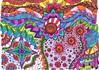 Doodle 111 (kraai65) Tags: doodle zendoodle zentangle colourdoodle drawing