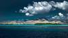 Nightstyle (seppala.markus) Tags: sky landscape sea seascape mountains water travel blue nighteffect light clouds ocean summer beautiful green picture aqua spectacular indonesia nightscape