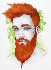 Wildling (Shmoonify) Tags: redhead redhair men man maleportrait beard beards bearded beardedmen malemodel ginger gingerguy gingerguys gingermen