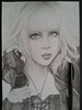 Jun (Giovana Draw/ デザイン) Tags: black white grafite graphite visual kei jrock illustration jun desenho draw grey portrait