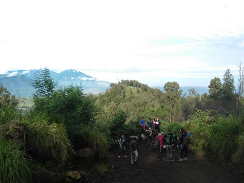 TRACK FROM IJEN TO PALTUDING