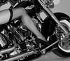 Harley Davidson (mybulldog) Tags: harley davidson harleydavidson stocking heel highheel harleydeluxe d90 nikon 18200mm bw nikond90 sexyleg deluxe