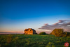 Forgotten place (Kasia Sokulska (KasiaBasic)) Tags: fujix canada alberta spring sunset prairies rural landscape oldhouse