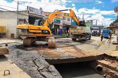 2017-01-10 Limpeza bairro Jd. da Rainha (Prefeitura de Itapevi - Perfil Oficial) Tags: itapevi limpeza córrego