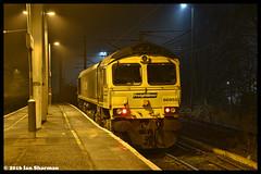 No 66955 6th Dec 2016 Ipswich (Ian Sharman 1963) Tags: no 66955 6th dec 2016 ipswich class station diesel engine railway rail railways railfreight train trains loco locomotive freightliner d