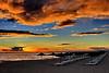 Praia da Marina... (Zéza Lemos) Tags: portugal praia pordesol puestadelsol oceano reflexos rochas reflections mar algarve água areia water sunset sol surf sunny beiramar ondas vilamoura verão férias falésias nuvens