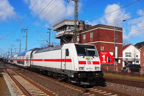 D DB 146 552-5 Leer 20-03-2016