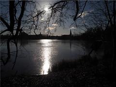 Winter at the lake (Ostseetroll) Tags: deu deutschland eutin geo:lat=5414339664 geo:lon=1062196663 geotagged schleswigholstein winter see lake spiegelungen reflections eis ice