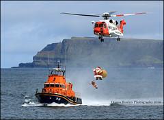 Merry Christmas to everyone! (Donna Rowley) Tags: christmas festive santa coastguard portrush rnli ireland