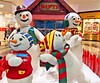Wishing you a great Christmas! (A guy called John) Tags: christmas 2016 snowman snow family figures fun scene happy merry smiles season seasons greetings holidays joyful seasonal ireland irish dundrum town shopping centre mall