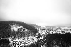 Winter on the Village [Edited] (Gaetan682) Tags: follow landscapes paysage like followme love noiretblanc blackandwhite bw nb winter neige 6000 alpha sony