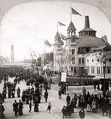 The Midway at the World's Fair, Chicago, 1893 (Peer Into The Past) Tags: peerintothepast history vintage 1893 midway worldsfair illinois chicago