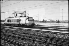Andata (|γ|S| GammaSintesi) Tags: minox35gt blackandwhite bw ilford hp5plus film venezia ferrovia railway italia italy monocrome pellicola v700 arsimago monobath