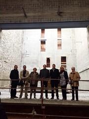 Visita de Juanjo Puigcorbé al Teatre Centre (2015)