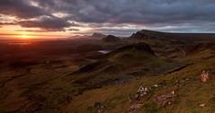The Trotternish Escarpment - Skye - Scotland (Bill Higham) Tags: trotternish skye uk scotland dawn sunrise escarpment quiraing cleat mountains