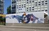Sundial mural, Coswiger Strasse, Berlin Springfuhl, July 2016 (stilo95hp) Tags: ddr gdr mural wandbild berlin 1983