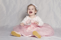 IMG_1481 (DouxVide) Tags: girl baby toddler pink dress tutu tulle