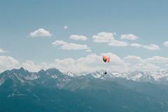 Paraglider in Hafelekar