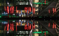 Reflections of Dublin 03 (a.lee.miller) Tags: ifttt 500px reflections water sunset reflection light city architecture night abstract neon long exposure urban building glass theatre