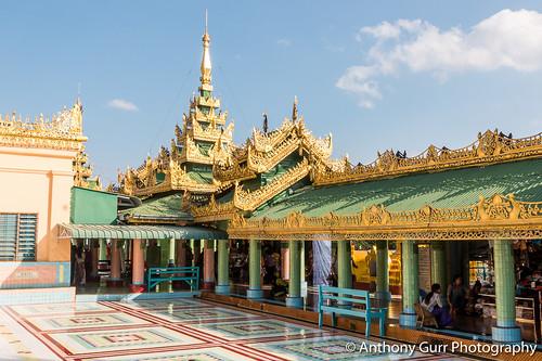 Soon Oo Pon Nya Shin Pagoda in Sagaing, Myanmar