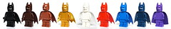 Monochrome Batman (Vanjey_Lego) Tags: lego minifig minifigs minifigure minifigures mi batman color monochrome plaincolor plain dccomics legobatmanmovie superheroes