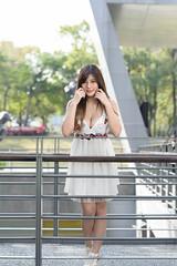 DSC_5236 (錢龍) Tags: 陳葳 d700 美術館 nikon 外拍 美胸 beauty girl sexy