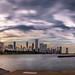 Chicago skyline at sunset - United States - Cityscape photography