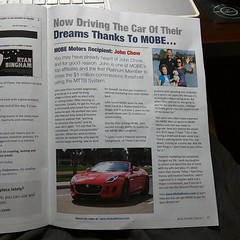 I'm featured in this month's issue of the MLR Inner Circle newsletter.