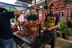 Grill lamb (Ezani Zainal) Tags: wedding food grill reception malaysia lamb kambing seremban sanding resepsi desarhu