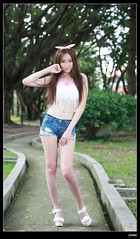 nEO_IMG_DP1U5042 (c0466art) Tags: school light portrait girl beautiful face female angel canon nice eyes asia long pretty legs outdoor quality gorgeous south taiwan figure lovely charming activity pure 1dx c0466art