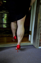 _DSC0024jj (ARDENT PHOTOGRAPHER) Tags: woman female highheels muscular veins calves flexing veiny muscularwoman