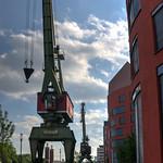 Alte Hafenkrane - old dockside kranes thumbnail