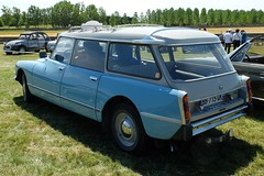 CITROEN DS 20 Break (1973) (xavnco2) Tags: show blue france classic car french automobile break estate meeting citron stationwagon bleue ancienne maineetloire raduno 2015 paysdeloire rassemblement ds20 maz carouleamaze