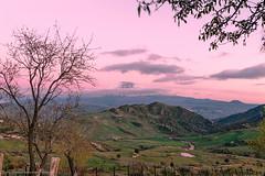 Etna al tramonto dai Nebrodi (Mirko Chessari) Tags: sunset italy mountains landscape volcano it hills sicily etna sicilia nebrodi cesar