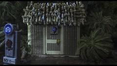 Lego Jurassic Park Toilet Exterior Shot (AzureBrick) Tags: world park lego go goat toilet rex jurassic trex brickfilm gotta tyranosaurus collapsing azurebrick macrolegouniverse